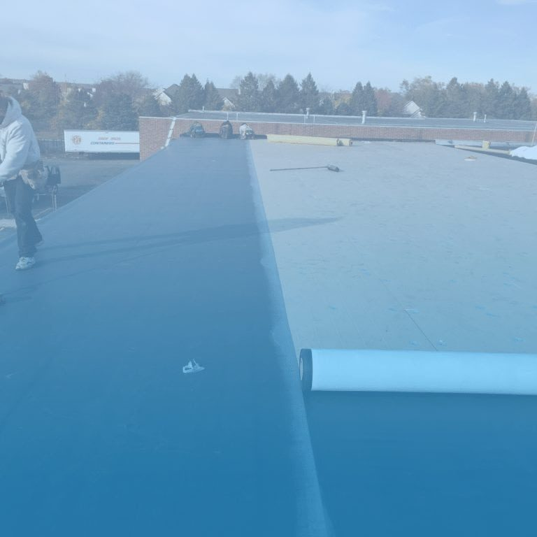 EPDM roofing example from infinite roofing