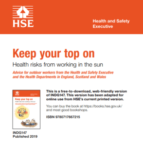 Dermatitis: Click to Download the HSE Guidance