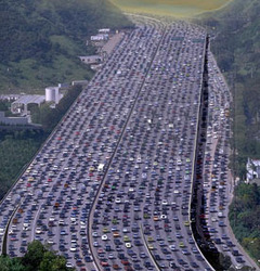 Road Toll Traffic Jam