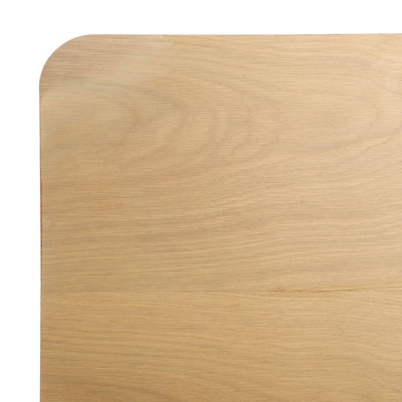 Mesa centro nrdica rectangular natural madera