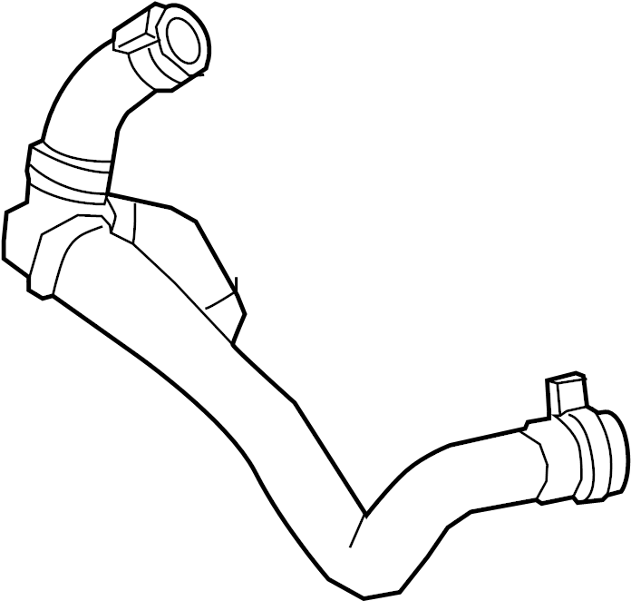 INFINITI Q50 Engine Coolant Hose. WATER, THERMOSTAT