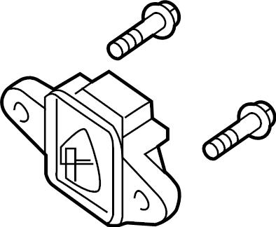 INFINITI JX35 Air Bag Impact Sensor (Right). BODY, DASH
