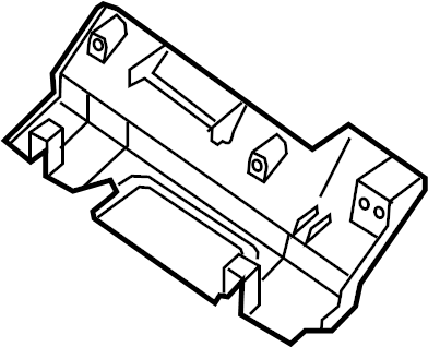 INFINITI QX4 Seat Trim Panel (Front). CCS, PASSENGER