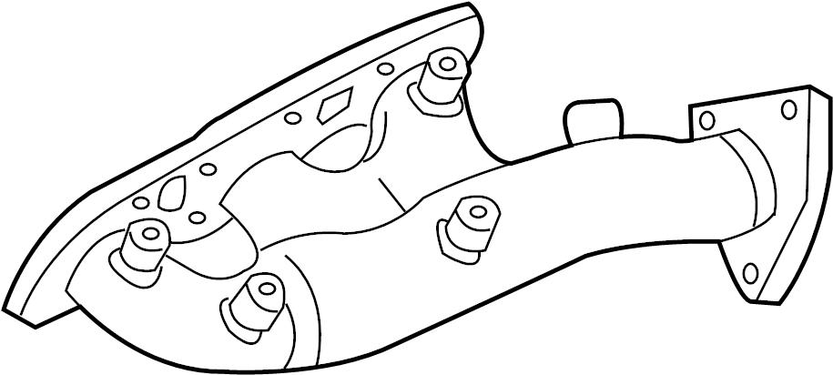 INFINITI FX35 Exhaust Manifold. ENGINE, INTAKE, COVER