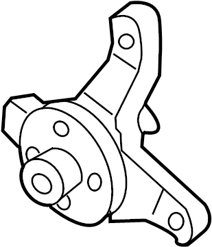 INFINITI G35 Engine Water Pump Bracket. COOLING