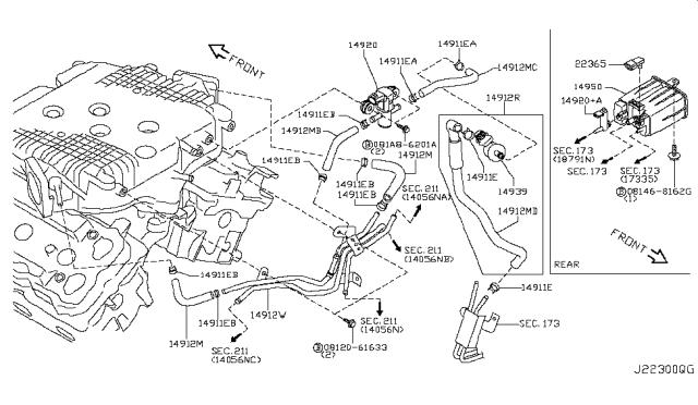 [DIAGRAM] 2003 Kia Sorento Coolant Hoses Diagram Behind Engine