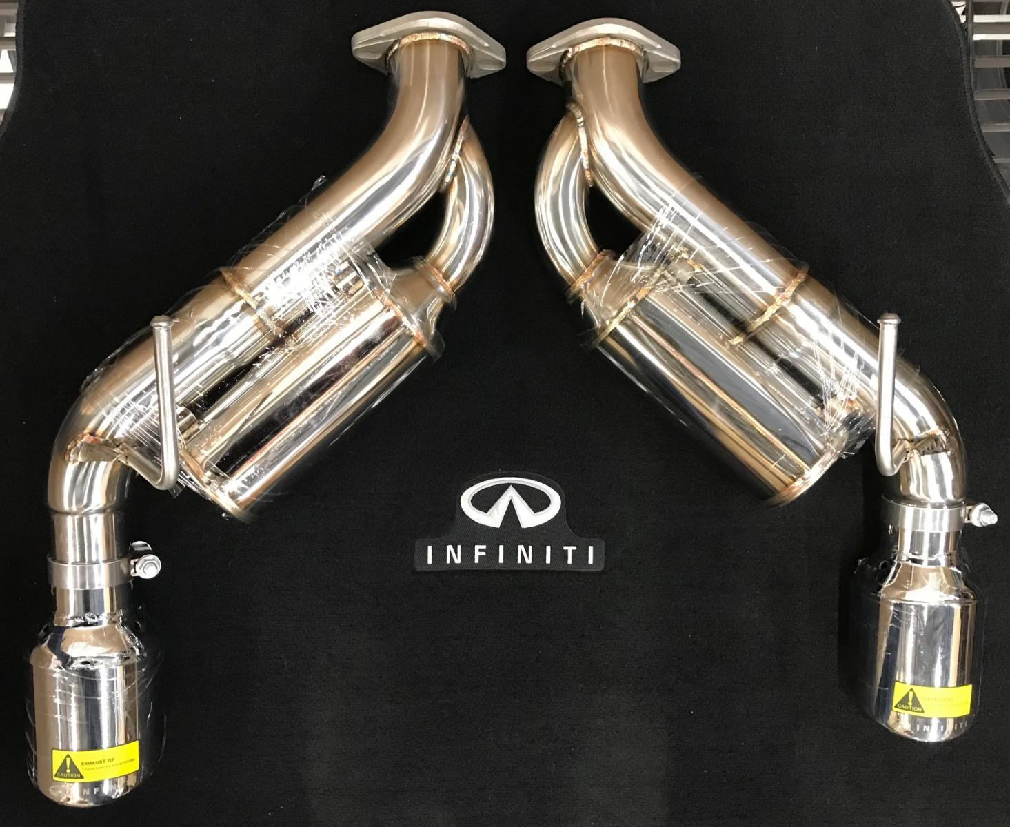 new infiniti helmholtz exhaust kit