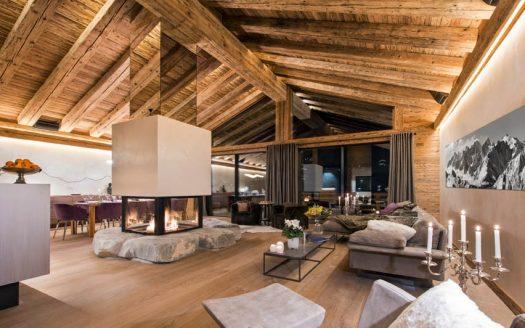 INFINITY REISEN  Exklusives Luxus Chalet Alpen mieten