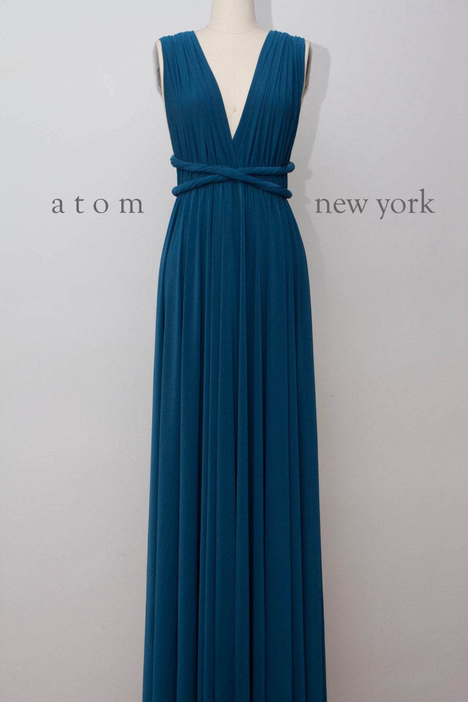 Convertible dressRoyal Blue infinity dressFloor length