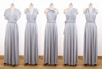 Set of 6 Cocktail Bridesmaid Convertible Dress, Dresses