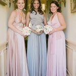 Blush Convertible Dress Convertible Infinity Bridesmaid Wrap Dress