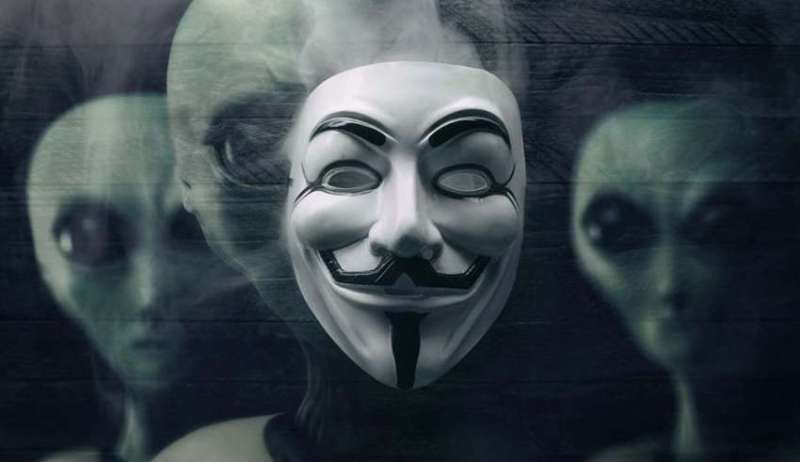 Anonymous says NASA to announce the existence of alien life