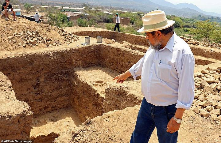 Walter Alva said the investigation season was 45 days and resources are expected next year to restart investigations, because this temple is part of a large complex.