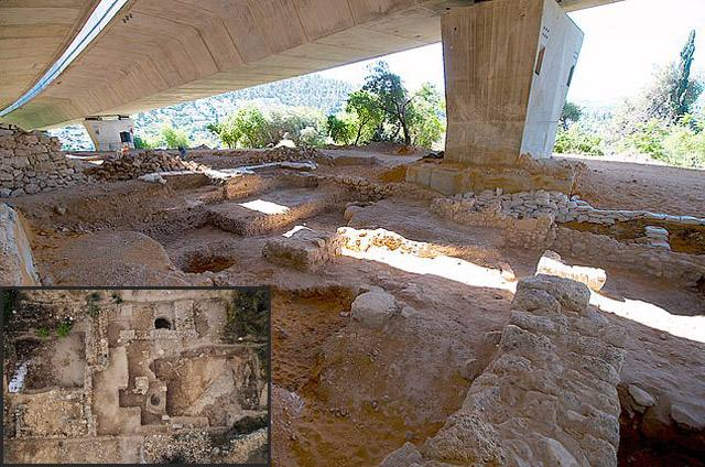 A temple discovered near Jerusalem contradicts the Bible