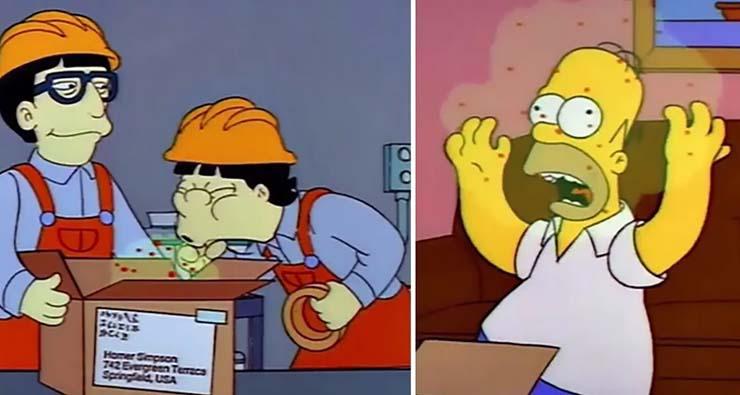 Simpsons Predicted The Coronavirus And Killer Wasps