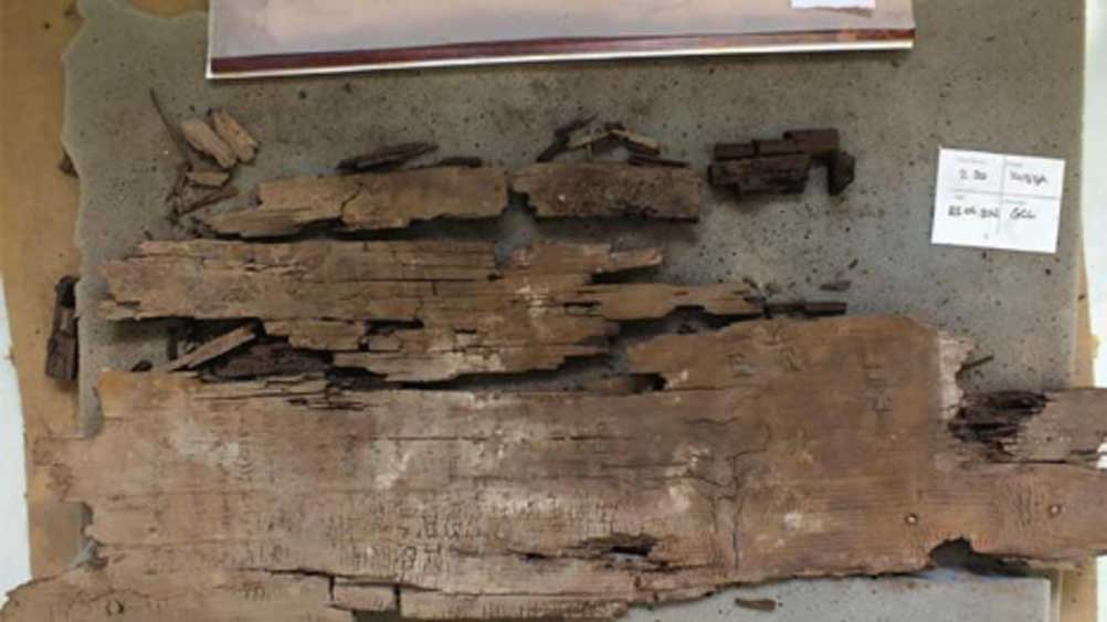 An inscription discovered on an Egyptian Sarcophagus provides a map of the Underworld