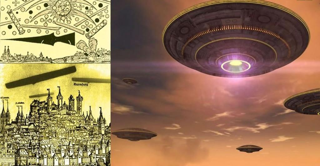 UFO Battle of Nuremberg