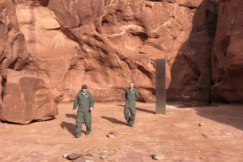 Utah's Enigmatic Monolith Disappears Without A Trace And Another Similar Structure Was Found In Romania