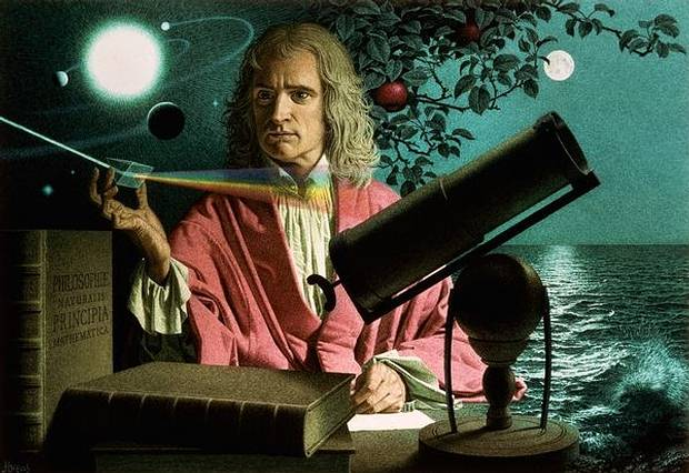 Isaac Newton's Burnt Notes Of The Great Pyramid Reveals His Research On The Apocalypse