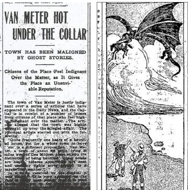 The Unsolved Mystery Of The Van Meter Monster