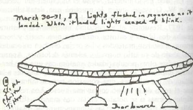 Drawing Of Aliens And UFOs By Christa Tilton
