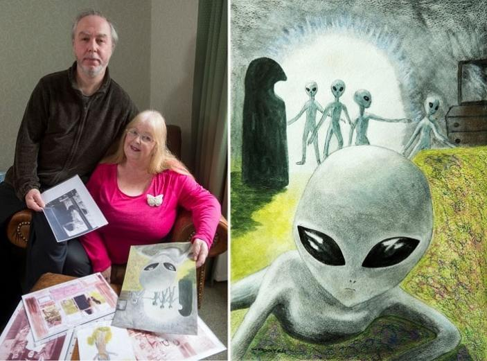 The Alien Abduction Of Hilary Porter: Repeated Abductions By Gray Aliens, Bruises And Implants