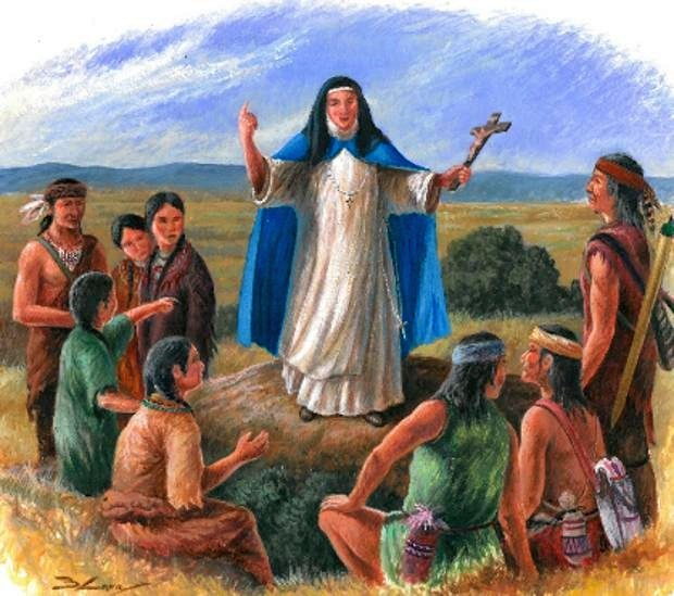 Mary Jesus of Agreda: The Nun With The Ability Of Teleportation