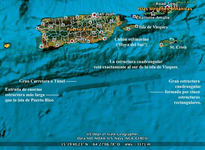 Mysterious Alien Encounters In Puerto Rico: Deadbody Of An Alien And Underwater Alien Bases