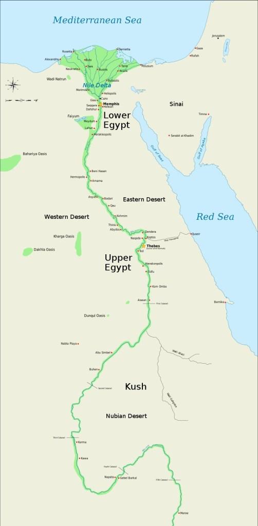 Map of Kush