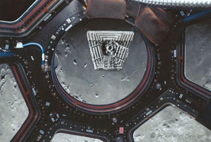 Многие похищенные говорят, что одна из баз на Луне напоминает Пентагон.