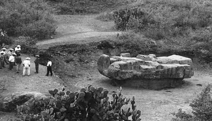 Aztec God Tláloc And His Mysterious Spaceship Shaped Monument