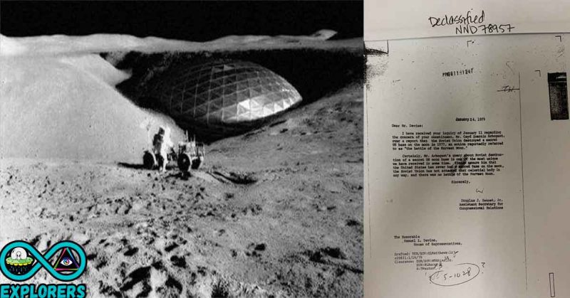 US base on the moon