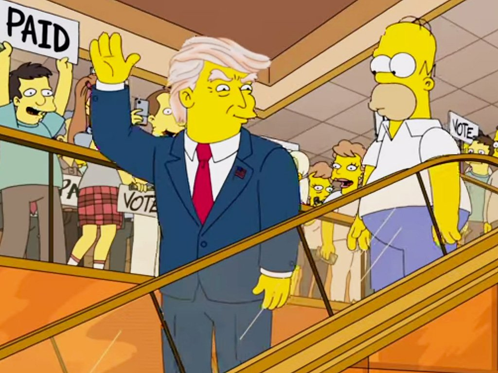 Predictions By The Simpsons