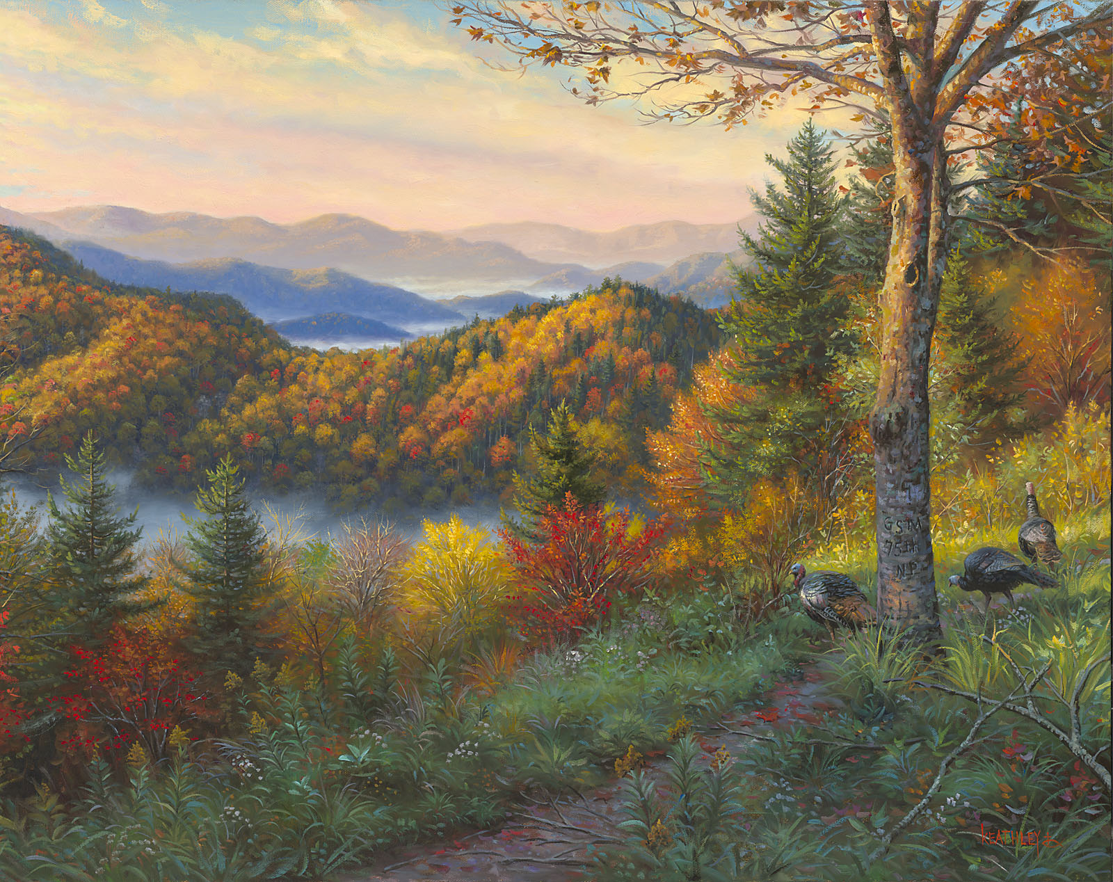 Fall Mountain Scenery Wallpaper Newfound Memories Ii By Mark Keathley High Resolution Image