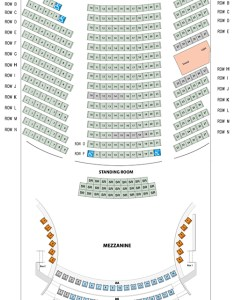 Mezzanine tables aa mm also seating chart infinity hall hartford rh infinityhall