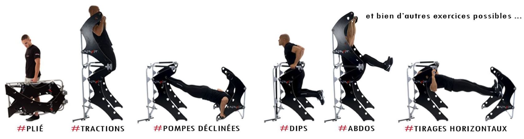 chaise romaine dips pompes tractions