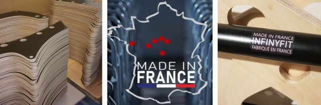 Fabrication made in france sport