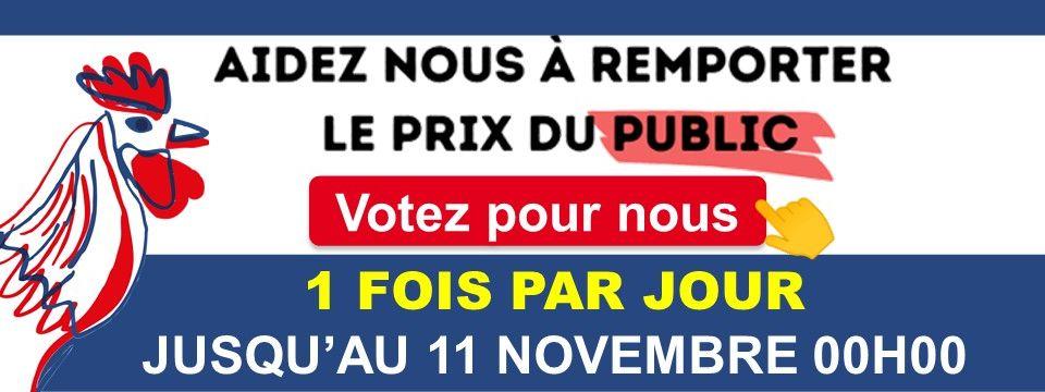 Votez pour Infinyfit au Made in France