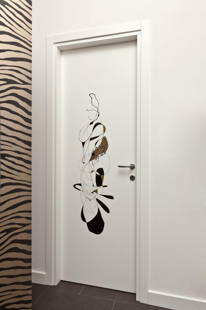 Porte per interni di design personalizzate e realizzate su