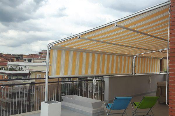 Le tende da sole sono da sempre il rimedio per ombreggiare o coprire i nostri terrazzi e balconi dal sole o dalle intemperie. Tende Da Sole Tempotest Centro Infissi Cioffarelli