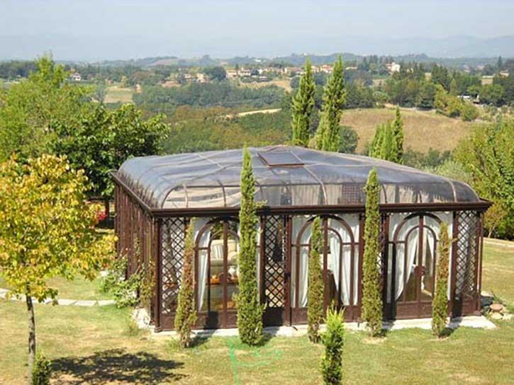 Esempio veranda a Como foto 1