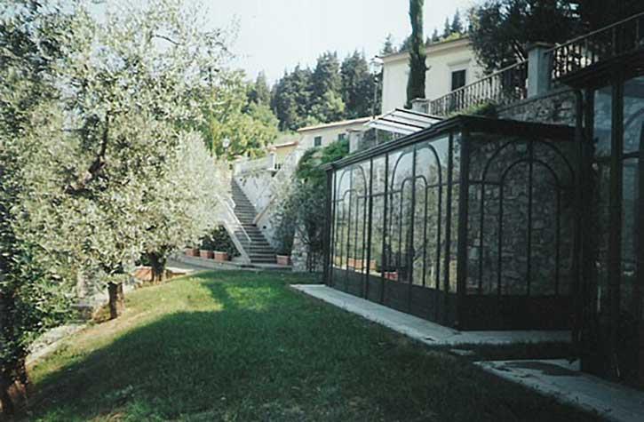 Esempio veranda a Como foto 2