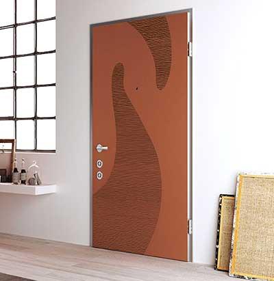Porte blindate colori personalizzati Lecco