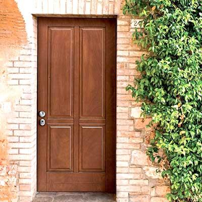 Porte blindate in legno massello Pavia