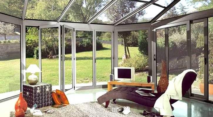 Verande in vetro e alluminio Lodi