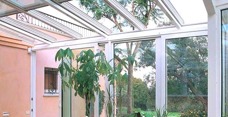 Verande vetro e alluminio Sondrio