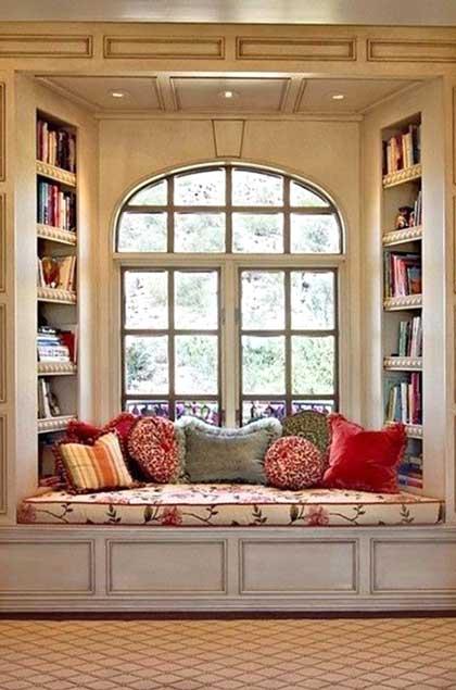 finestra stile inglese interno casa
