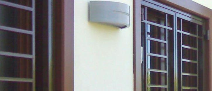 Inferriate finestra appartamento Como