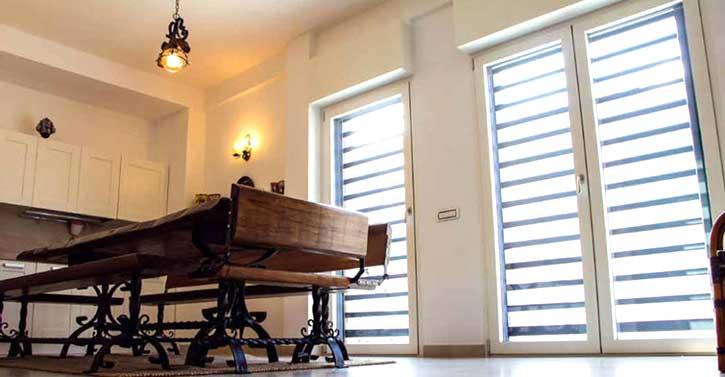 Installazione grate di sicurezza in una casa a Pavia