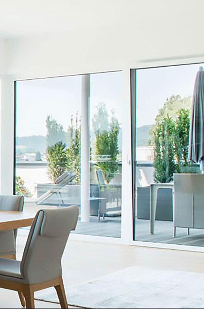 Porte finestre scorrevoli per esterni